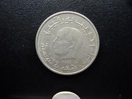 TUNISIE : 1/2 DINAR  1983   KM 303     SUP - Tunisie