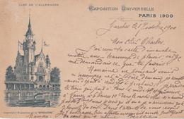 Cpa Exposition Universelle De Paris 1900 Pub Bénédictine - Expositions