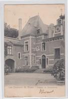 BILZEN-BEVERST-LES ENVIRONS DE BILSEN-CHATEAU DE SCHOONBEEK-KASTEEL-VERZONDEN KAART NAAR GELINDEN-1910-ZIE DE 2 SCANS - Bilzen