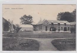 BILZEN-BEVERST-CHATEAU DE DAMERSBOSCH-KASTEEL-SERRES-ZELDZAME VERZONDEN KAART NAAR GELINDEN-1912-ZIE DE 2 SCANS - Bilzen