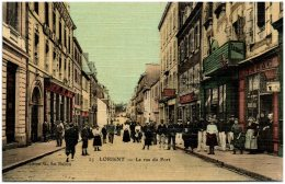 56 LORIENT - La Rue Du Port - Lorient