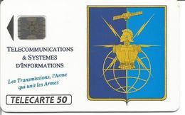 """Télécarte De FRANCE - ARMEE DE TERRE """" Les Transmissions """" 09/92 SC4 ( N° 264) - Armée"""