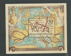 Hongrie BF N° 228 XX Les Grandes Routes Européennes Du Tmps De L'Empire Romain,  Le Bloc Sans Charnière, TB - Blocks & Sheetlets