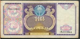 °°° UZBEKISTAN 100 CYM 1994 °°° - Uzbekistán
