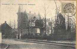 _Op 514: SWEVEGHEM- N3 - Château De M Vandevenne>  Gand: SWEVEGHEM: N°81-tab 1912 - Zwevegem