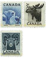 Ref. 299403 * MNH * - CANADA. 1953. PRESERVATION OF WILD LIFE WEEK . SEMANA DE LA PRESERVACION DE LA FAUNA SALVAJE - 1952-.... Elizabeth II