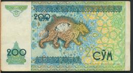 °°° UZBEKISTAN 200 CYM 1997 °°° - Uzbekistan
