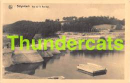 CPA BUTGENBACH VUE SUR LE BARRAGE - Butgenbach - Buetgenbach