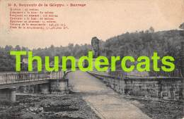 CPA  SOUVENIR DE LA GILEPPE BARRAGE - Gileppe (Barrage)