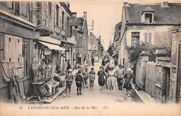 """¤¤  -   LANGRUNE-sur-MER    -  Rue De La Mer   -  Bazar , Epicerie """" Produit FELIX POTIN """"     -  ¤¤ - France"""