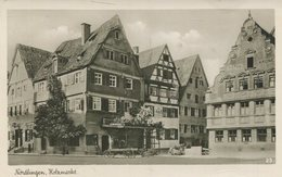 004785  Nördlingen - Holzmarkt - Noerdlingen