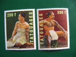 POLYNESIE YVERT POSTE ORDINAIRE N° 902/903 TIMBRES NEUFS** LUXE - MNH - FACIALE 4,19 EUROS - Polynésie Française