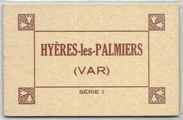 83. HYERES.  CARNET DE 10 CARTES  SERIE 1 - Hyeres