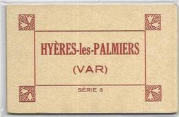 83. HYERES.  CARNET DE 10 CARTES  SERIE 3 - Hyeres