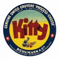 Kitty Genuine Swiss Gruyère Switzerland - Bühlmann & Co Grosshöchstetten Emmental - Cheese