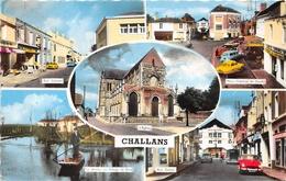 ¤¤  -    CHALLANS  -  Miltivues - Rue Carnot, Place Du Général De Gaulle, Le Marais, Rue Gobin  -  ¤¤ - Challans