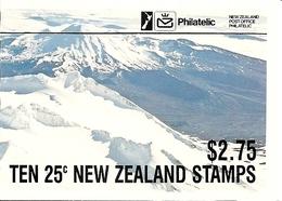 NEW ZEALAND, 1985, Booklet 40, $ 2.75, 10x25c, Tongar. Park - Boekjes