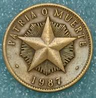 Cuba 1 Peso, 1987 -1539 - Cuba