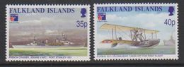 Falkland Islands 1999 Philexfrance / First Flight Over Falkland Islands 2v ** Mnh (39711) - Falklandeilanden