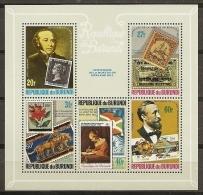 CELEBRIDADES/ROWLAND HILL - BURUNDI 1976 - Yvert #H108 - MNH ** - Rowland Hill