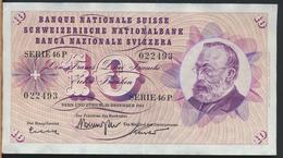 °°° SVIZZERA 10 FRANCHI 1965 °°° - Svizzera