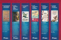 19 Marque Page.   Bookmark.   FNAC.  Un été 2018 Très Livre - Marque-Pages