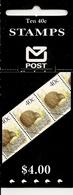 NEW ZEALAND, 1990, Booklet 53, $ 4.00 Kiwi Hang Sell - Libretti