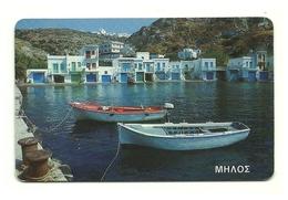 Grecia - Tessera Telefonica Da 100 Units T528 - Barche