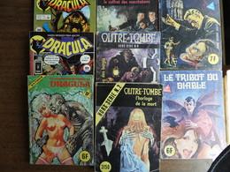 9 BD Adultes Horreur - Paquete De Libros