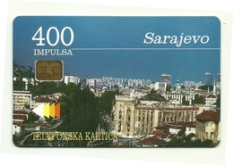 Bosnia - Tessera Telefonica Da 400 Units T531 - PTT BIH - Paysages