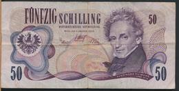 °°° AUSTRIA 50 SCHILLING 1970 °°° - Austria