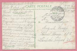 Sur CP CONSTANTINOPLE - Le Selamlik - Cachet FELDPOST - KONSTANTINOPEL - 3 Scans - 1858-1921 Empire Ottoman