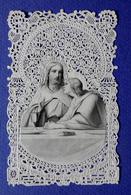 CANIVET   DOPTER   LE CHRIST    L'EUCHARISTIE  HOLY CARD SANTINI - Imágenes Religiosas