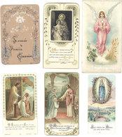 6 Images Pieuses – Communions, Fontenay Sous Bois (4) - Images Religieuses