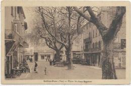 83. SOLLIES PONT.PLACE ST JEAN BAPTISTE - Sollies Pont