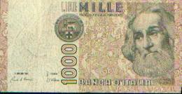 Italie – 1000 Lires - [ 2] 1946-… : Républic