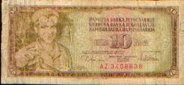 BULGARIE – 10 Dinar -12/VIII/14978 - Bulgarie
