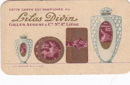 Carte Parfumée Parfum Lilas Divin Liège - Cartes Parfumées