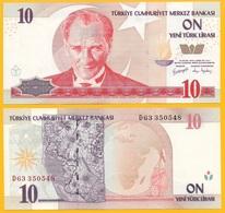 Turkey 10 New Lira P-218 2005 UNC - Turchia