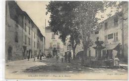 83. SOLLIES TOUCAS.  PLACE DE LA MAIRIE EN 1914 - Sollies Pont
