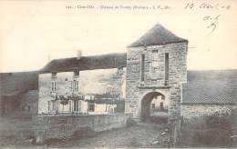 21 - Château De Turcey, Ruines (cachet Rural K/3) - Autres Communes