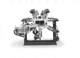 Presse Début Du XXème Siècle - Gravure D'époque - Tirée à Neuchâtel ? Suisse ( 24 X 17 Cm) - Machines