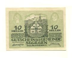1920 - Austria - St. Gilgen Notgeld N47, - Austria