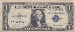 BILLETE DE ESTADOS UNIDOS DE 1 DOLLAR DEL AÑO 1935 E LETRA I-I WASHINGTON  (BANK NOTE) - Billetes De La Reserva Federal (1928-...)