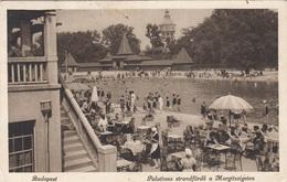 BUDAPEST - Palatinus Strandfördö A Margitszigeten, 400+2000 K Marken, Karte Gel.1925 V.Budapest > Bratislava - Ungarn