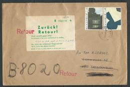 Brief Verstuurd Naar DDR 3/6/86 RETOUR - Unclassified