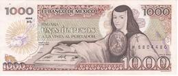 BILLETE DE MEXICO DE 1000 PESOS DEL AÑO 1985 EN CALIDAD EBC (XF) (BANKNOTE) - México