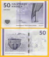 Denmark50 Kroner P-65g 2014 Sign. Callesen & Sørensen UNC - Danemark