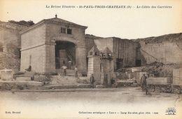 St Saint-Paul-Trois-Châteaux (Drôme) - Le Cable Des Carrières - Edition Lang Fils, Carte Non Circulée - Francia