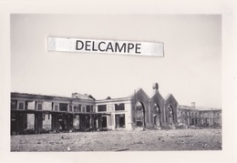 VAISE  LYON 1944 - Photo Originale De La Gare Après Les Bombardements ( Rhône ) - Places